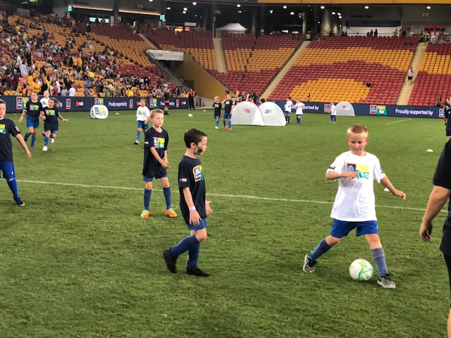 Halftime Hero's - Matilda's Cup of Nations